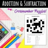 Crossnumber puzzles: Addition & Subtraction