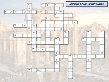 Crossword - Ancient Rome