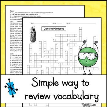 Crossword Puzzle - Classical Genetics