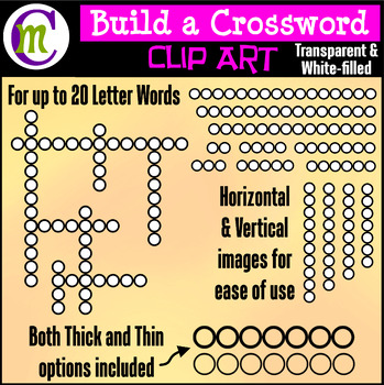 Crossword Clipart | Circle