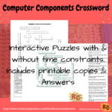 Computer Components Interactive Crossword