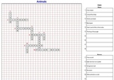 Crossword Creator - Classroom License  A Pinkley Product