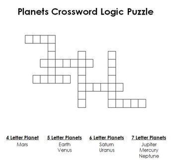 Crossword Logic Puzzles