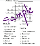 Crossword: Los Modales