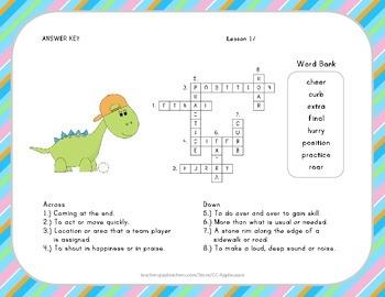 Crossword Puzzle - Luke Goes to Bat - Journeys Aligned