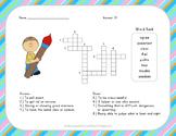 Crossword Puzzle - The Signmaker's Assistant - Jouneys Aligned