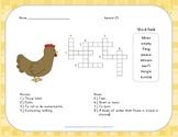 Crossword Puzzle - Half-Chicken - Journeys Aligned