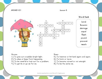Crossword Puzzle - Super Storms - Journeys Aligned