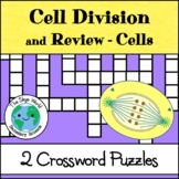 Crossword Puzzle - Cell Division and Review - Cells