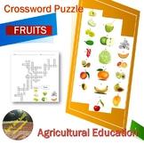 Crossword Puzzle - Fruits