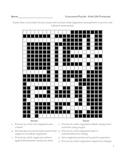 Biology Crossword Puzzle - Life Processes