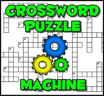 Crossword Puzzle Machine