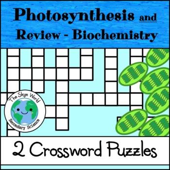 Crossword Puzzle - Photosynthesis
