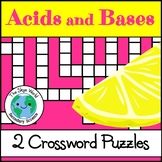 Crossword Puzzles - Properties of Acids and Bases & Common Acids and Bases