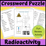 Crossword Puzzle: Radioactivity