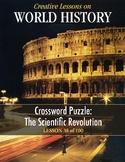 Crossword Puzzle: Scientific Revolution, WORLD HISTORY LESSON 38 of 100, +Quiz