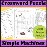 Crossword Puzzle: Simple Machines
