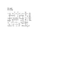Crossword Puzzle - Single Letter Consonants