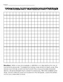 Crossword Puzzle Template