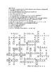 Crossword Puzzle - Three Letter Consonants