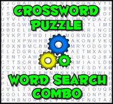 Crossword Puzzle - Word Search Combo