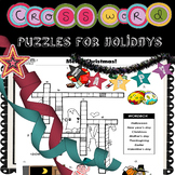 Crossword Puzzle for Holidays!! No Prep
