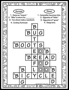 Crossword Puzzles A-Z