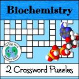 Crossword Puzzles - Biochemistry + More Biochemistry