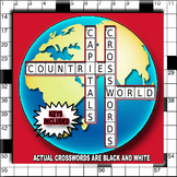 Crossword Puzzles - Countries and Capitals