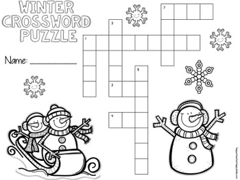 Crossword Puzzles - January