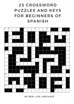 Crossword Puzzles for Beginners of Spanish