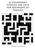 Spanish Crossword Puzzles for Beginners