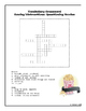 Crossword Puzzles for Journeys Unit 2- 4th Grade