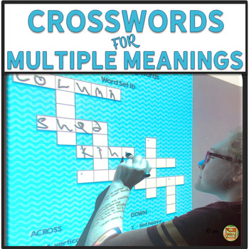 Crossword Puzzles for Multiple Meaning Words
