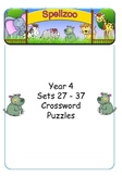 Crossword Puzzles for Year 4 Term 3 spelling lists