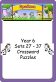 Crossword Puzzles for Year 6 Term 3 spelling lists
