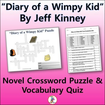 Diary Of A Wimpy Kid Activities Worksheets Teachers Pay Teachers
