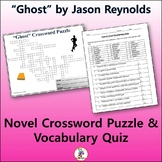 "Crossword & Vocab Quiz for ""Ghost"" by Jason Reynolds"