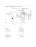 Crossword for Sadlier's Vocabulary Workshop B