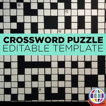 Form crossword puzzle template by the comprehensible classroom by form crossword puzzle template pronofoot35fo Choice Image