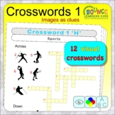 Visual crosswords (distance learning crosswords with image