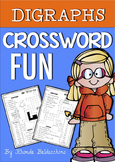Crossword Fun ~ Digraphs, R Controlled Vowels, CVCE Words, Vowel Teams and MORE