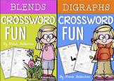 Crossword Fun {Digraphs and Blends} Bundle