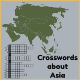 Crosswords about Asia