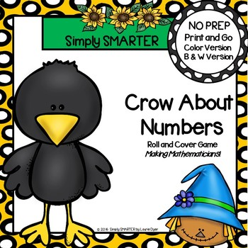 Crow About Numbers:  NO PREP Scarecrow Themed Ten Frames R