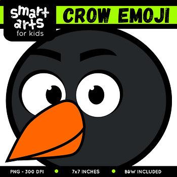 Crow Emoji Clip Art