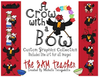 Crow with a Bow Custom Graphics Collection