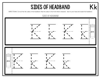 Alphabet Headbands-(Part of a Bundle)