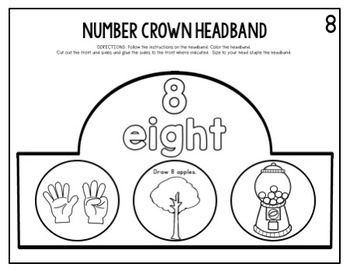Crown Headband BUNDLE-ABCs, Blends, Digraphs, Magic/Bossy e, Word Families, 0-20