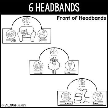 Diagraph Headbands-(Part of a Bundle)